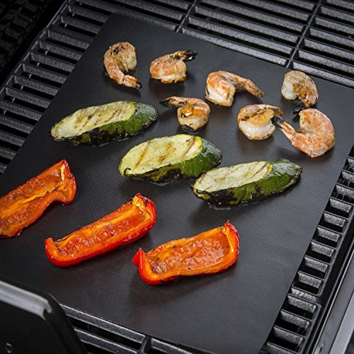 Non-stick BBQ Grill Mat Barbecue Baking Liners Reusable Teflon Cooking Sheets 40 30cm Cooking Tool