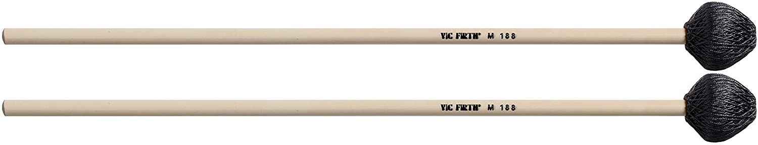 Vic Firth M188 Corpmaster Multi-Application Keyboard Mallets Rubber Core KMC Music Inc