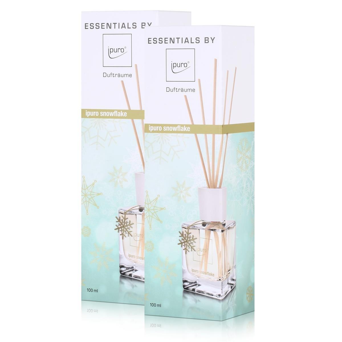 Essentials by Ipuro Snowflake 100 ml Ambientador - Aroma Salas (2 unidades): Amazon.es: Hogar