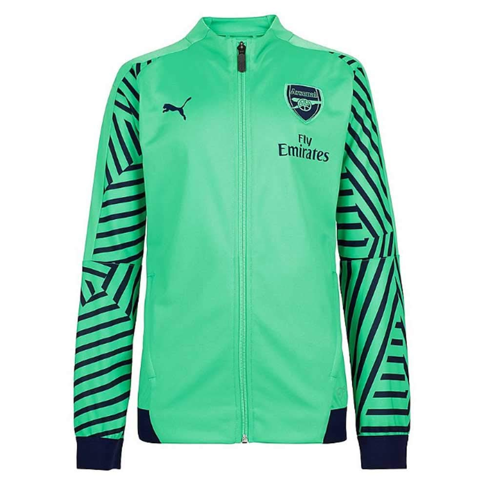 Puma 2018-2019 Arsenal Stadium Jacket (Green): Amazon.es: Deportes ...