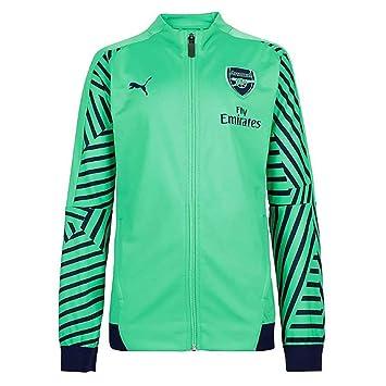 Amazon.com   PUMA 2018-2019 Arsenal Stadium Jacket (Green)   Sports    Outdoors a67200084