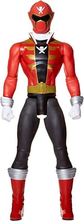 NEW GIANT POWER RANGER 31 INCHES TALL RED MEGA FORCE ACTION FIGURE