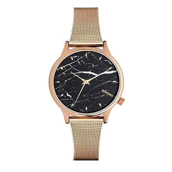 Komono Silver Estelle Marble Royale horloge KOM-W2868