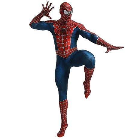 QQWE Traje de Cosplay de Spiderman DC Hero Niños Adultos ...