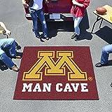 "Fan Mats Minnesota Man Cave Tailgater Rug 60""X72"""