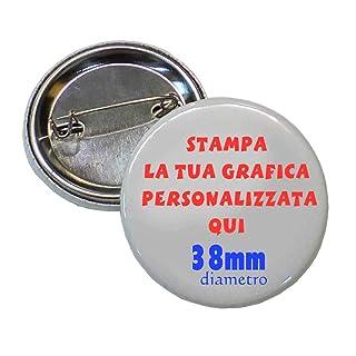 Magic 30 Spille da 38mm Spilla SPILLETTE Pins Personalizzate con Il Tuo Logo - Grafica