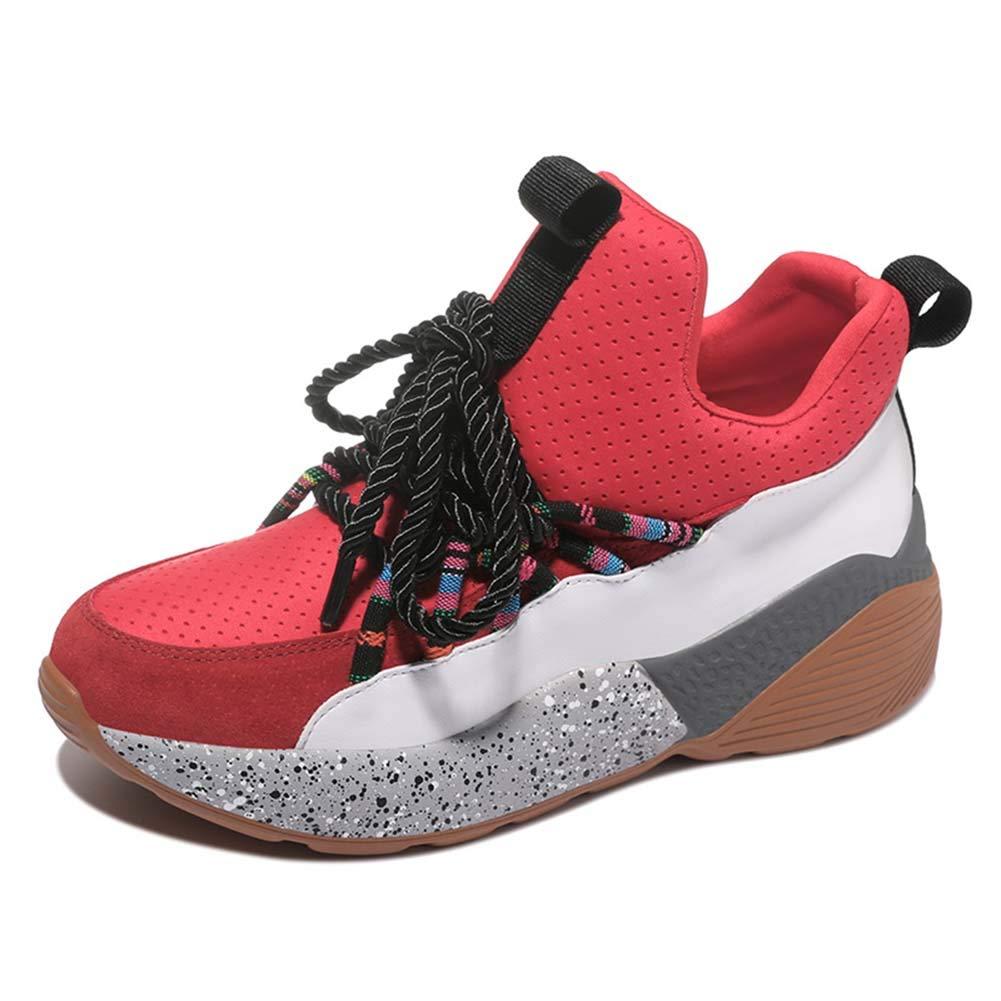 XLY Damenfrühling komfortable Plattform-Turnschuhe Mode-Maschen atmungsaktive Wearable Casual Schuhe