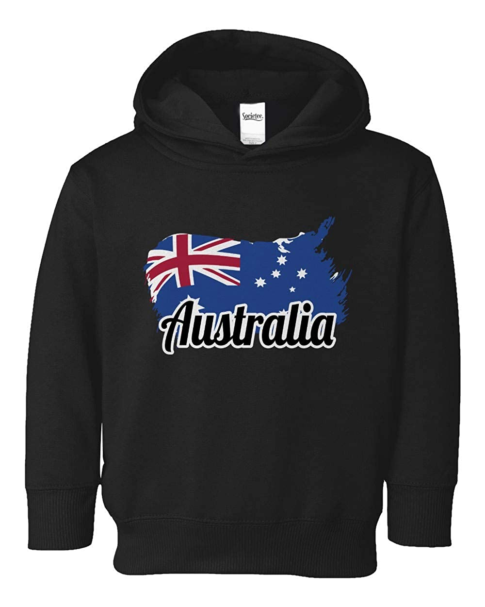 Societee Australia National Pride Cute Adorable Girls Boys Toddler Hooded Sweatshirt