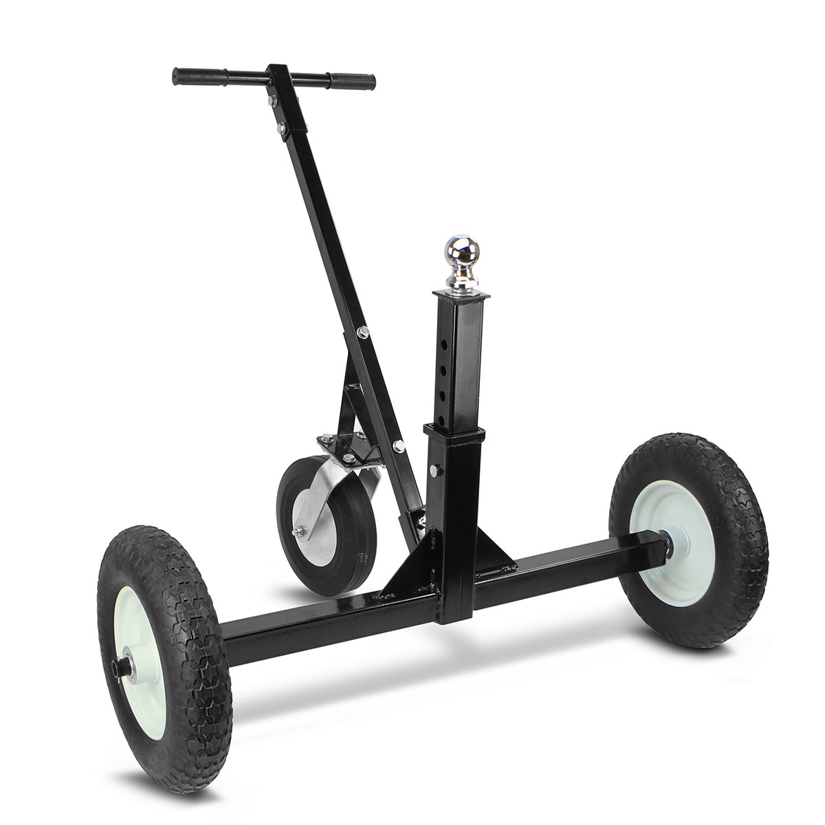1000Lb Adjustable Tow Hitch Trailer Dolly Cargo Utility