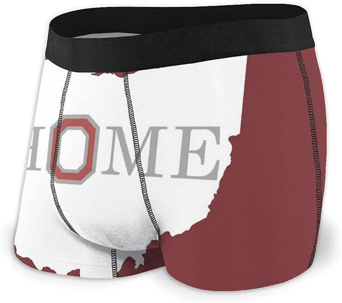 Men's Boxer Briefs Home Ohio State Underwear Trunks Comfortable Training Classic Moisture Wicking Bikini Panties