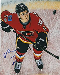 Autographed Matthew Tkachuk 8x10 Calgary Flames Photo