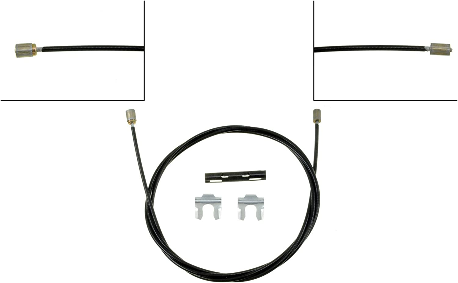 Parking Brake Cable Front Dorman C92632 fits 73-75 Ford F-250
