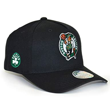 Mitchell & Ness Boston Celtics INTL132 110 Curved Eazy NBA Flexfit Snapback Cap One Size: Amazon.es: Ropa y accesorios