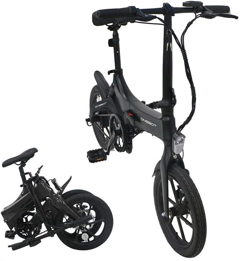 Bicicleta eléctrica Plegable: Bicicleta Plegable ONEBOT S6, Ajuste ...