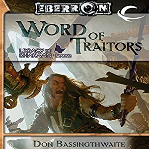 Word of Traitors Hörbuch