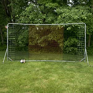 Franklin Sports Tournament Quality Steel Soccer Rebounder - 12 x 6 Foot