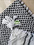 48 x 48 inches-black and white as shown in images---supreme quality----8 Oz each piece from Islamic gifts 123 Super wholesale deal ****We are #1 seller OF Islamic Gifts ---WEDDINGS---AMMEEN----BABY---GRADUATION***********