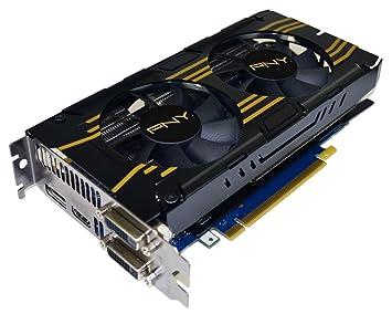 PNY VCGGTX7602XPB-OC GeForce GTX 760 2GB GDDR5 - Tarjeta ...