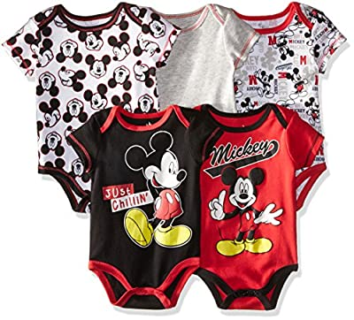 Disney Baby Boys' 5-Pack Bodysuit by Bentex Licensed Children's Apparel that we recomend individually.