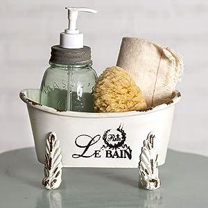 CTW Home Collection Mini Clawfoot Bathtub