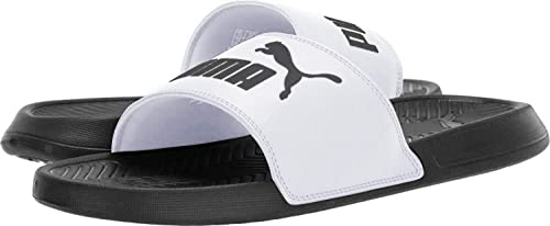 puma slides grey