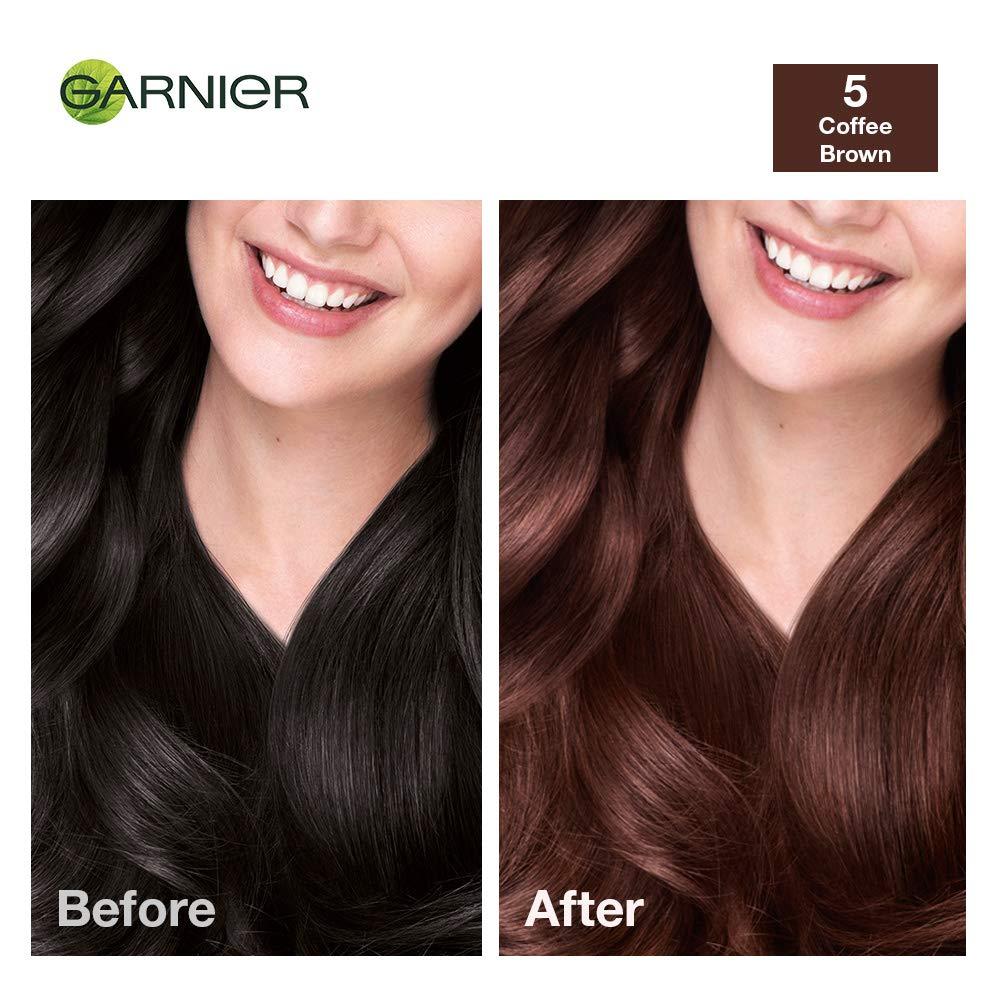 Buy Garnier Color Naturals Shade 5 Coffee Brown 70ml 60g Online