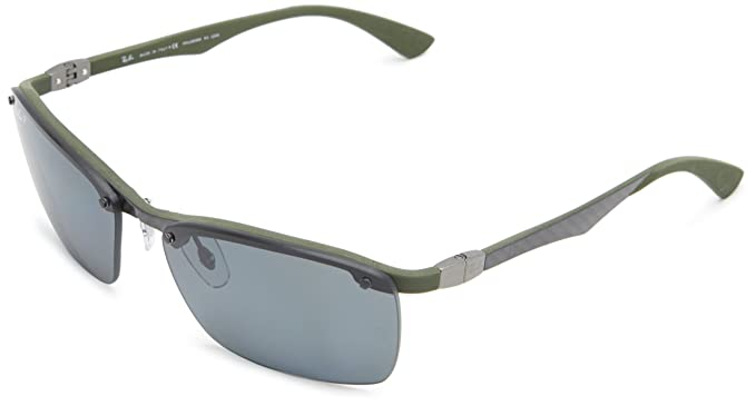 Ray-Ban Gafas de Sol MOD. 8312 SOLE127/81 Verde: Amazon.es ...