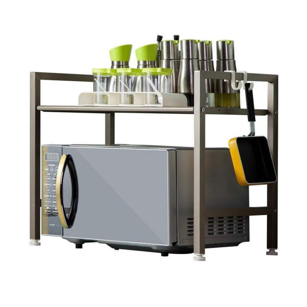 Kitchen Shelf Microwave Oven Rice Cooker Oven Storage Storage Double 2 Floor Home Supplies