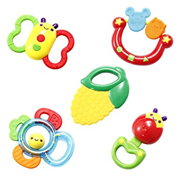 JinZhiCheng - Set de juguete para recién nacido, diseño de dibujos ...