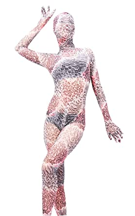 LinvMe Women\'s Modal Zentai Second Skin Suit Sheer Full Bodysuit XXL ...