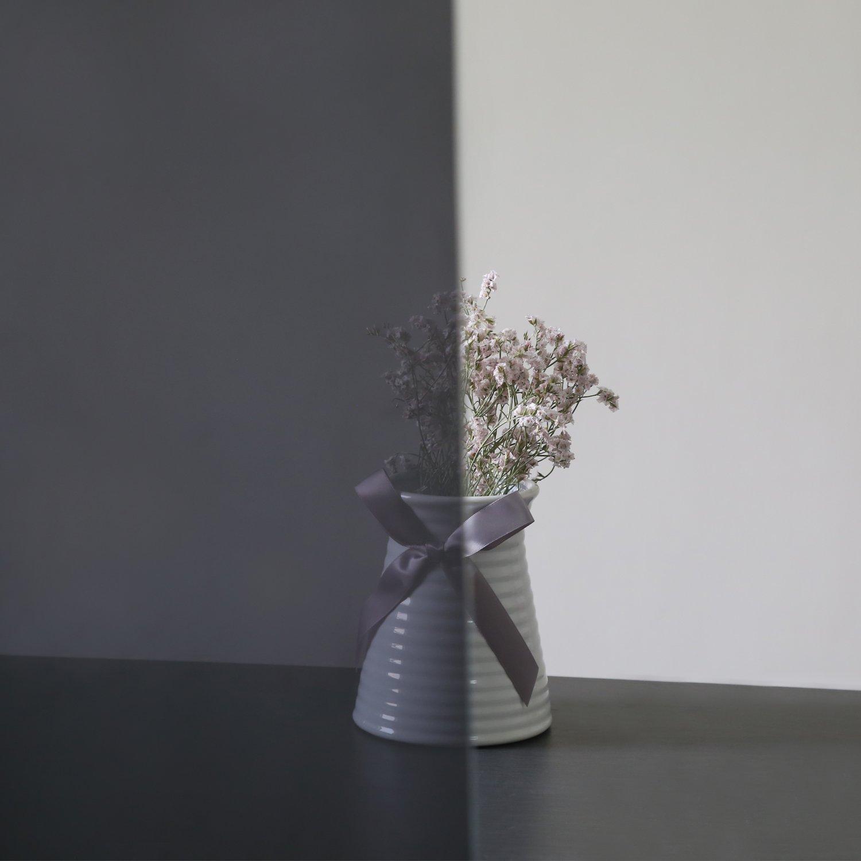 Aingoo Fenster Folie Sonnenschutzfolie Spiegelfolie Schwarz
