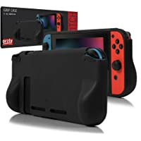 Orzly Protective case for Nintendo Switch Console (2017 Model), Comfort Grip Carry case with Shock Absorption - Solid…