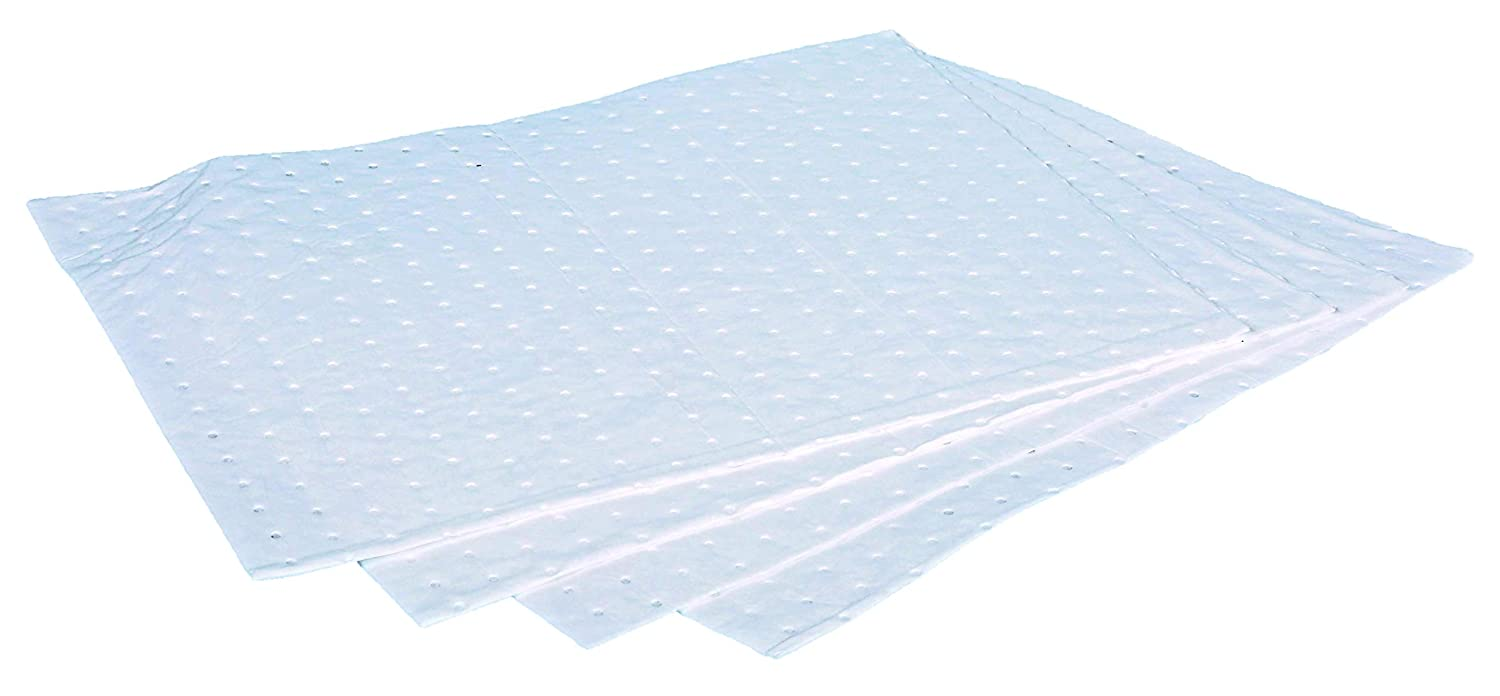 40 x 50cm Oil Spill Pads Veosorb 10 Premium Weight Non Linting Absorbent sheet