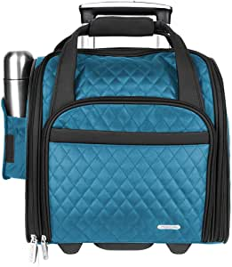Travelon Wheeled Underseat Carry-On - Teal