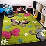 Kinder Teppich Schmetterling Design G...