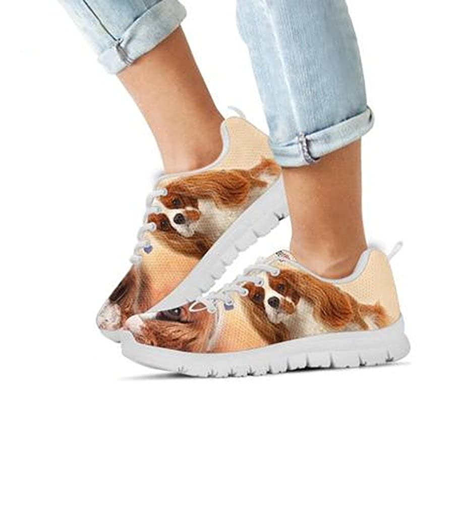 Cavalier King Dog Casual Sneakers for Kids Kids Running Shoes