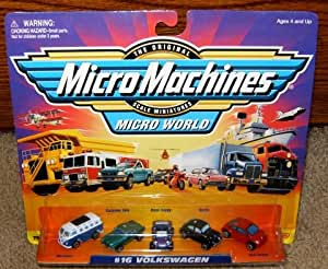 Micro Machines Volkswagen #16 Collection