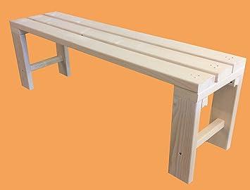 Total wood 2012 panchina panca panchetta in legno 100x38.5x50h anche