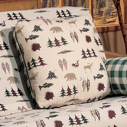 Checks Toss Pillow (Northern Exposure Square Pillow)