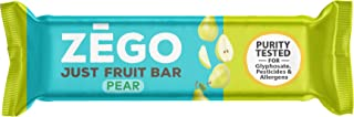 product image for ZEGO Just Fruit Bars, 100% Pear Ingredients, Non GMO, US Grown Fruit, 4g Fiber/80 Calorie Serving (Pear 24 Bars)