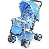 LuvLap Baby Stroller Pram Starshine Sky Blue