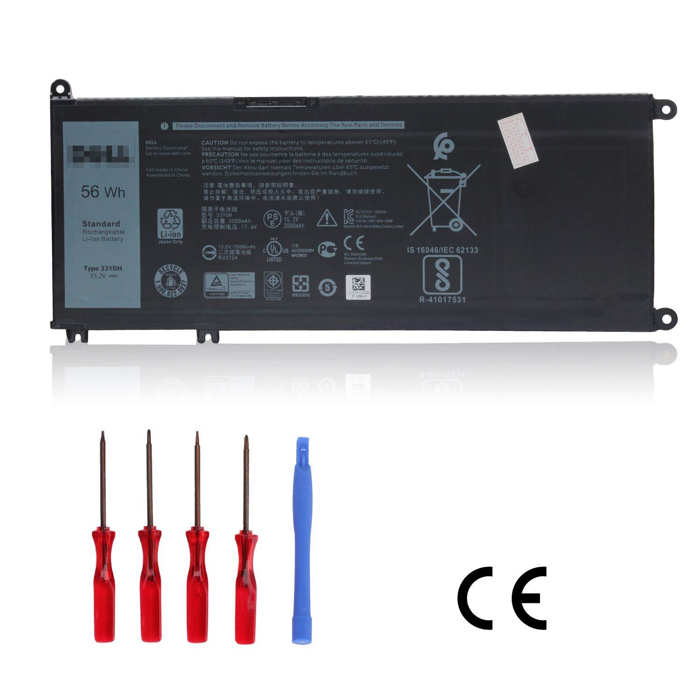 Bateria 33YDH 56Wh Dell Inspiron 15 7000 7577 7773 7778 7779
