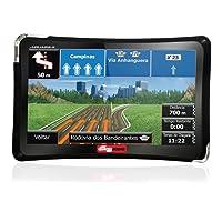 GPS Automotivo Guia Quatro Rodas Slim MTC 4310 4.3 Polegadas MP3 USB SD AUX 3D Alerta Radar