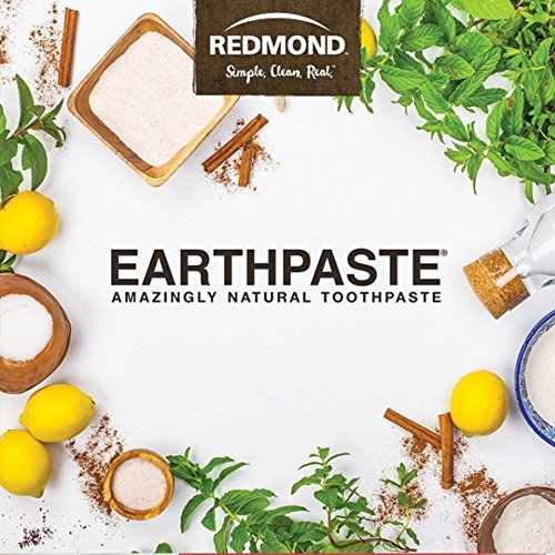 Redmond Earthpaste - Natural Non-Fluoride Toothpaste- Peppermint (2 pack- 2 x 4 Ounce Tube) by REDMOND (Image #6)'