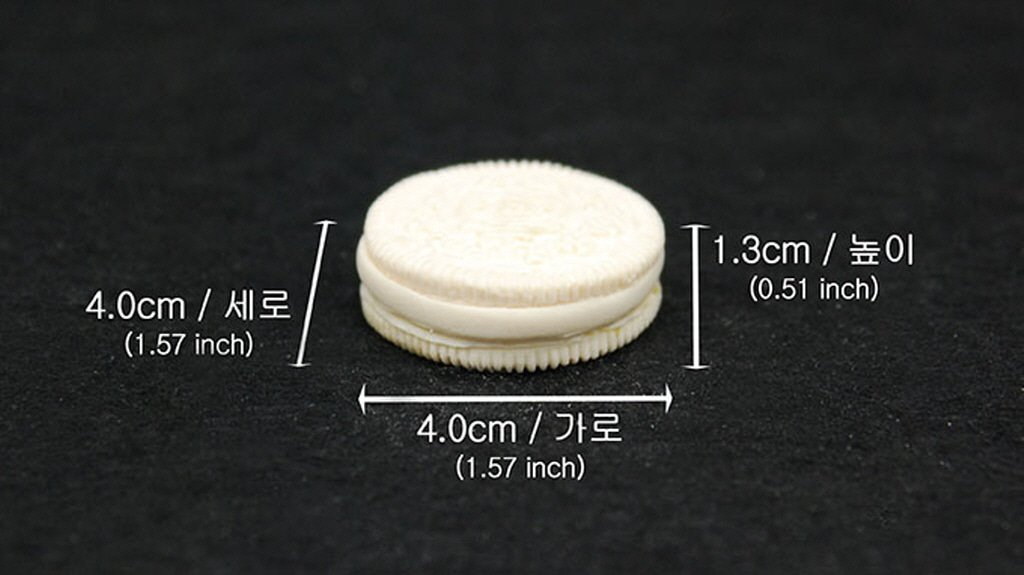 Handmade Silicone Mold Mould sugarcraft Candle Clay ice Tray Chocolate soap Making Oreo Cookie
