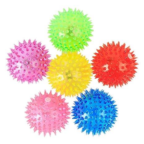 URIJK Pelota de juguete luminosa con bolas elásticas: URIJK ...