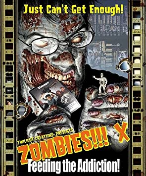 Zombies!!! X Feeding The Addiction - Juego de Cartas, 2 a 6 Jugadores (Twilight Creations) (versión en inglés): Amazon.es: Juguetes y juegos