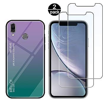 Funda para Huawei P20 Lite + [2 Pack] Protector Pantalla ...