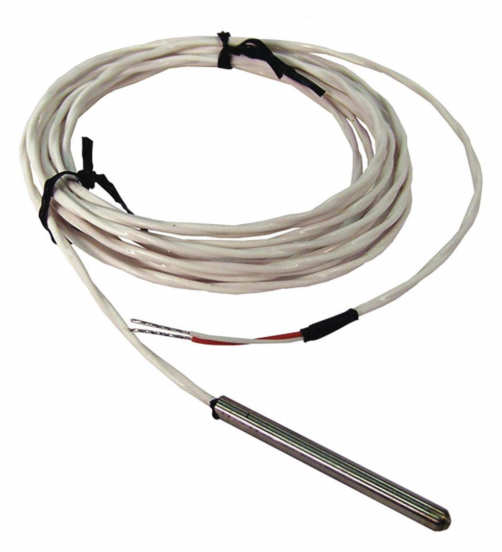 Custom 10K Ohm Thermistor Temperature Probe, -75° to 302° Temp. Range (F)
