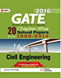 Gate Papers Civil Engg. 2016 Solved Papers 20 years: Chapter Wise